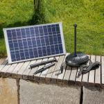 Aurinkokäyttöinen Roma-pumppujärjestelmä