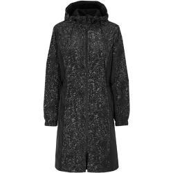 Cellbes Vuorattu heijastava takki Hopea Musta