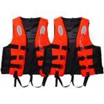 CoolSnow.dk - Populært udstyr og skibriller til din skiferie 2 x Stormy Pelastusliivi - Unisex - 70-90 kg 50-70 kg