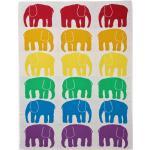 Elefantti vauvan torkkupeitto