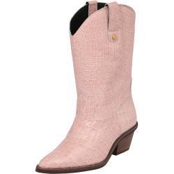 Fabienne Chapot Cowboy saappaat 'Holly' vaalea pinkki / beige