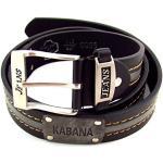 flevado Kabana Men's Belt black 120 cm Bundweite