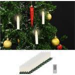 Langattomat LED-kynttilät kaukosäädin 100kpl lämmin -