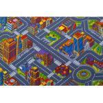 Lastenhuoneen matto SUURKAUPUNKI 160x240 cm