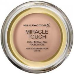 MAX FACTOR Miracle Touch Skin Perfecting Foundation SPF30 No.045 Warm Almond 11.5g