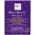 NEW NORDIC Blue Berry Omega 3 Food Supplement 60 Capsules