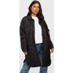 Only Onltanzia Long Quilted Shacket Cc O