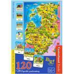 Palapeli Baltian maat 120-osainen