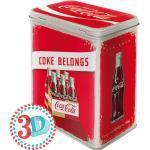 Peltipurkki Coca-Cola Coke Belongs 3 L