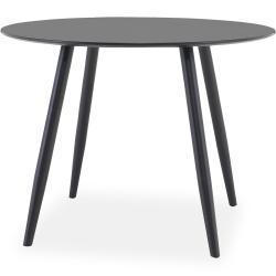 Pöytä Trym 100 cm Pyöreä - Musta