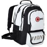 Qbag Backpack 10 30l One Size Black / White