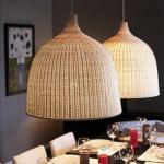 Rattan Handmade Bamboo Pendant Lights Japanese Shop Decor Hanglamp Home Decor Dining Room Loft Led Hanging Lamp E27