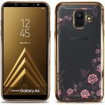 Samsung Galaxy A6 Diamond Suojakuori, Kulta