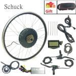 SCHUCK Electric Bicycle Conversion Kit 48V 1000W 1500W 20-29inch 700C Brushless Toothless Motor Wheel Ebike Conversion kit