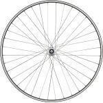 "Schürmann takakiekko H Bike 28 x 1.75 star 28 x 1,75"", groove, 36-gaats, black 2021 Kaupunki- & retkikiekot"
