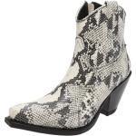 Sendra Boots 15521 Picarra Blanco women's leather boots - white black