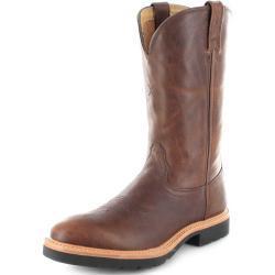 Naisten Ruskeat Klassiset Hengittävät Cowboy-bootsit