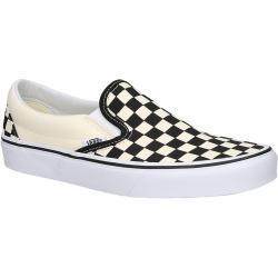 Naisten Valkoiset Klassiset Slip on -malliset Vans Classic Tennarit